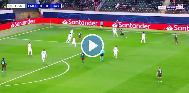 Lokomotiv Moscow vs Bayern München Live Score
