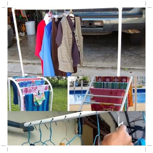 Gantungan pakaian dari PVC