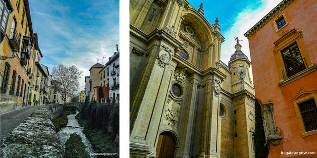 Granada: Carrera del Darro e Catedral, Andaluzia