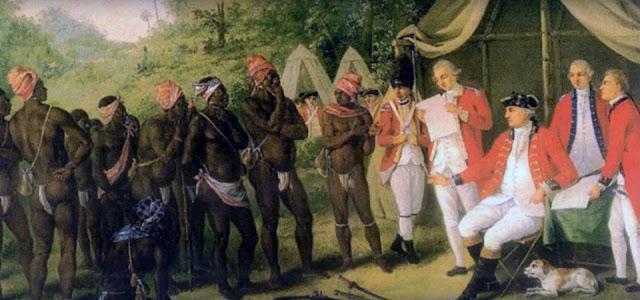 Los Garifunas - fotografia de la historia