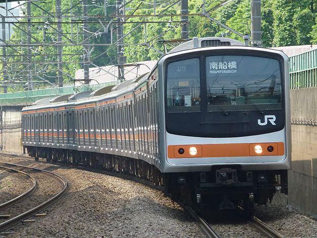 【ダイヤ改正前に引退!】武蔵野線 南船橋行き2 205系メルヘン顔