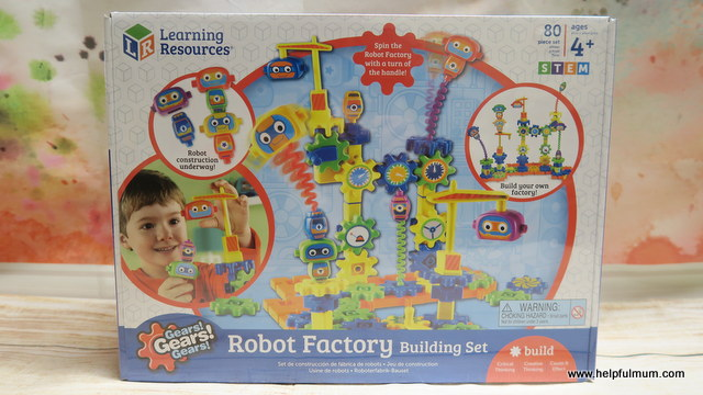 Gears Gear Gears Robot Factory Building Set