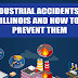 Industrial Accidents in Illinois and How to Prevent Them #infographic
