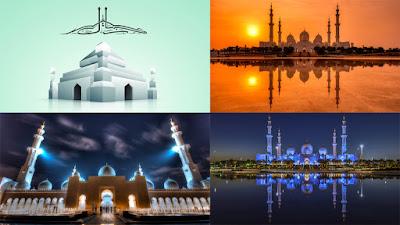 50 Gambar Wallpaper Masjid HD Untuk PC, Desktop, Laptop