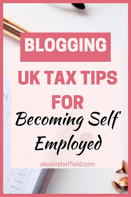 Becoming self employed as a blogger