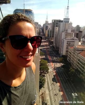 Vista do Mirante SESC Avenida Paulista
