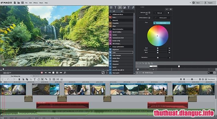 Download MAGIX Photostory Deluxe 2019 18.1.1.28 Full Cr@ck – Phần mềm biên tập video chuyên nghiệp