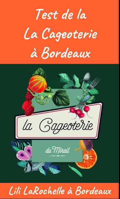 Test de La Cageoterie, fini la galère des courses pour les repas ! #Bordeaux - Lili LaRochelle à Bordeaux
