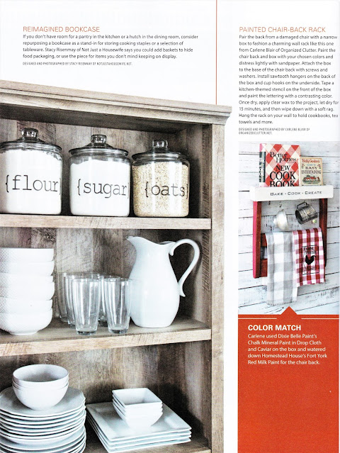 My Farmhouse Kitchen Project Featured in Country Sampler Kitchen Makeover Issue