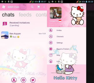 BBM Mod Pink Hello Kitty Based 3.0.0.18