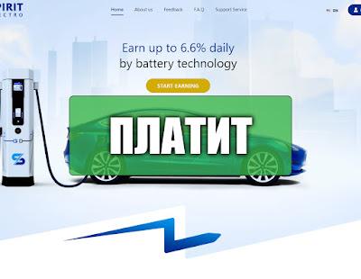 Скриншоты выплат с хайпа spiritelectro.com
