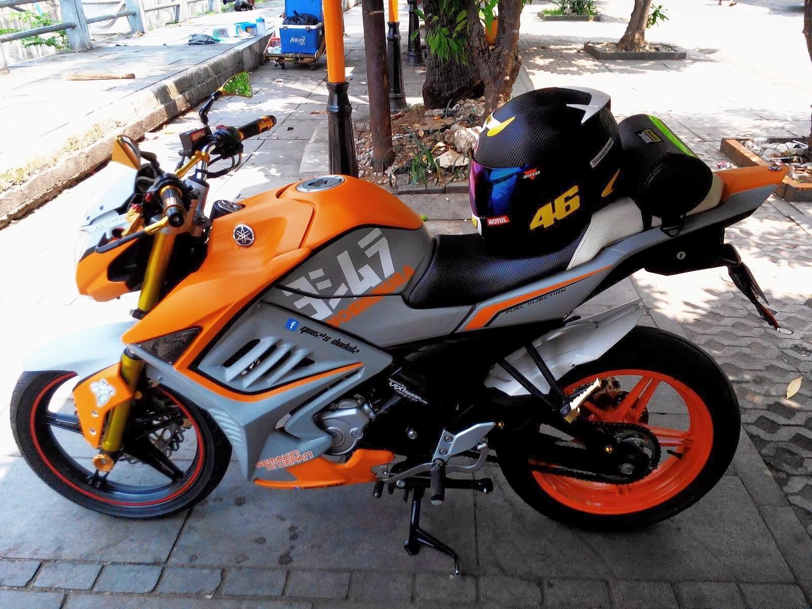 Koleksi Tempat Modifikasi Motor Vixion Di Surabaya Lampak Modifikasi