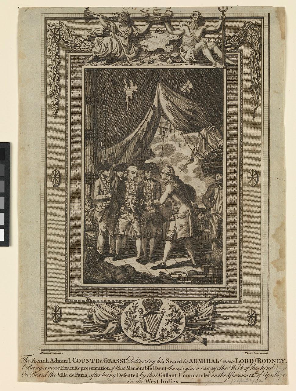 British Tars, 1740-1790: The French Admiral Count De Grasse