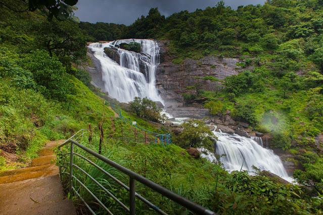 Mallalli Falls near Mishti valley Cottages