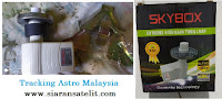 Tracking Astro Malaysia dengan LNB Prime Fokus Murah