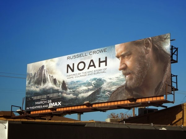 Noah film billboard