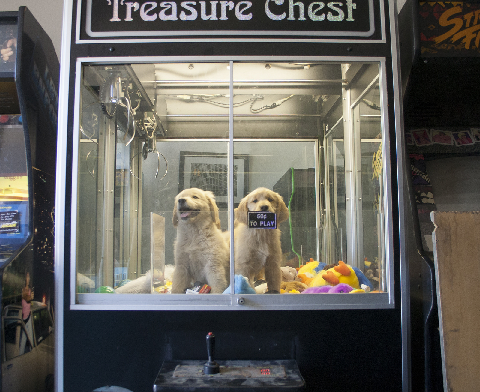 prize time claw machine