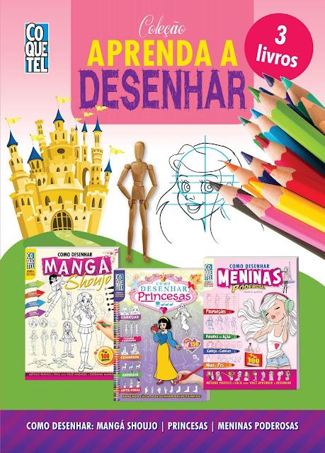 Coleção Aprenda A Desenhar 1 - Arthur Garcia, Franco de Rosa