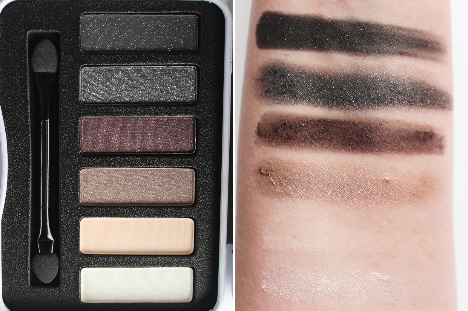 BRONX COLORS | Burlesque + Angel Dust Eyeshadow Palettes - Review + Swatches - CassandraMyee