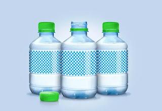 تحميل موك أب لزجاجات المياه Water Bottle Mockup2