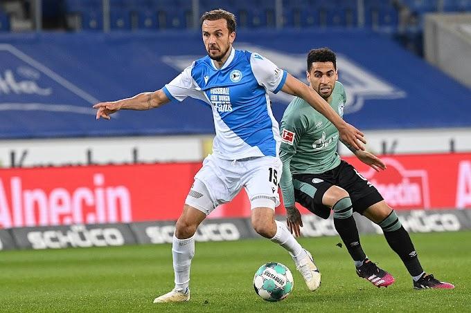 Em meio a polêmica da Superliga e ao já esperado rebaixamento do Schalke, Arminia Bielefeld atua como mensagem clara: futebol é dos fãs