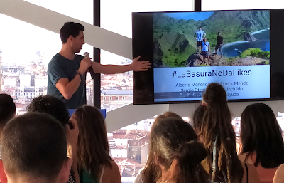 #LaBasuraNoDaLikes es un proyecto de MochilerosTV