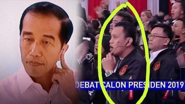 "Ramai ""Jokowi Pakai Earpiece saat Debat"", Karding Membantah"