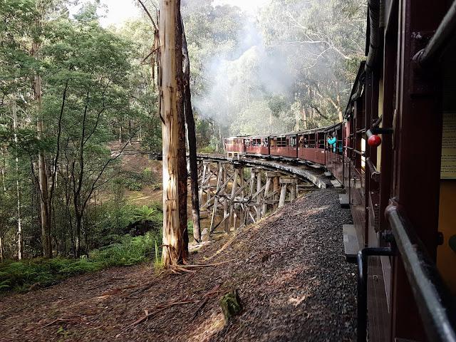 【墨尔本景点】普芬蒸汽火车 Puffing Billy Steam Railway| 带你走入较少为人知的Emerald Lakeside station to Gembrook station