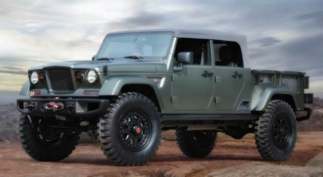 2018 Jeep Wrangler Concept and Spy Shots