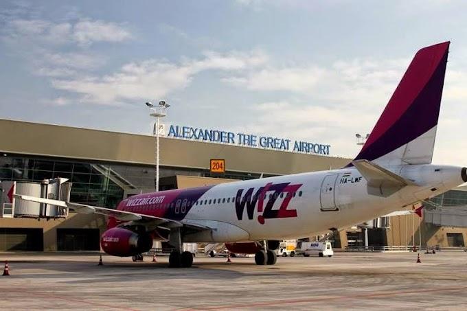 Wizz Air stellt alle saisonalen Flüge von Skopje und Ohrid auf Ganzjahresbetrieb um