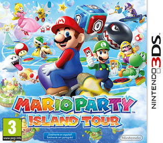 Mario Party Island Tour 3DS, Español, Mega