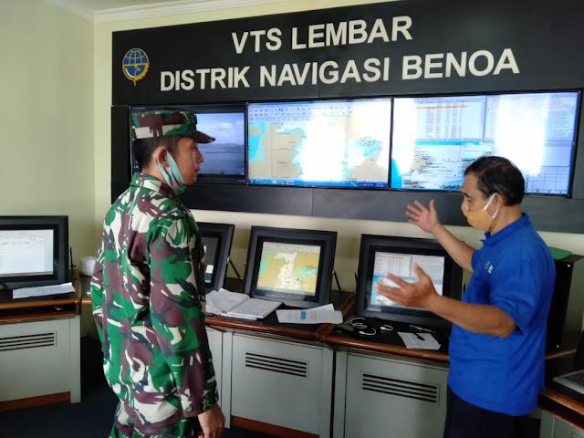 Danlanal Mataram Tindak Lanjuti Pengamanan TSS Selat Lombok