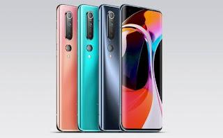 desain Xiaomi Mi 10 Ultra