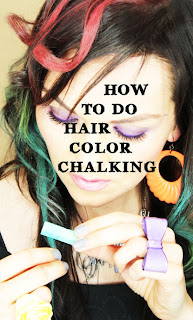kandeej hair color how to hair chalking