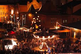 Lucia Christmas Market at the Kulturbrauerei, Berlim