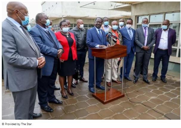 Raila to Raito: Don't take Kenya to war