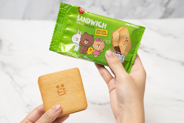 Wall's Ice Cream Launches Special Edition LINE FRIENDS Wall's Ice Cream Sandwich