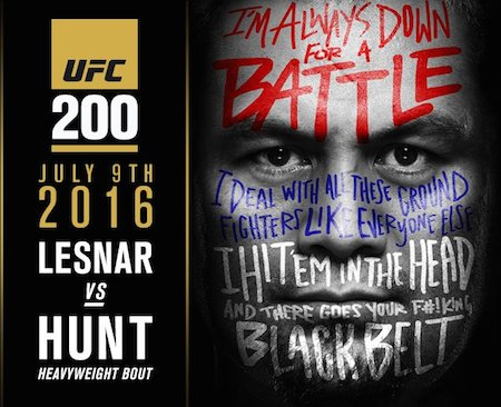 UFC 200 PPV Lesnar vs Hunt