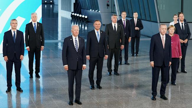 2021 NATO Zirvesine katılan devlet liderlerinin hatıra fotoğrafı, Brüksel
