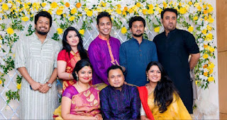 Mishu Sabbir And His Wife Shamma Holud Wedding Group Photos With Many Super Stars