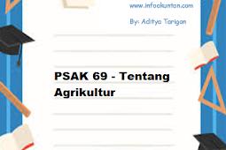 PSAK 69 - Tentang Agrikultur