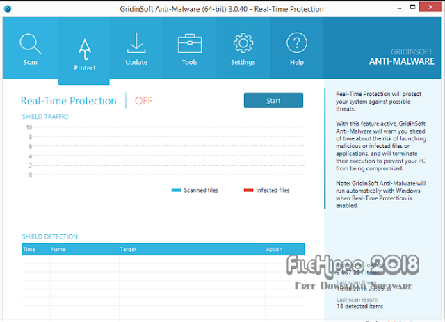 GridinSoft Anti-Malware 3.2.2 2018 Free Download