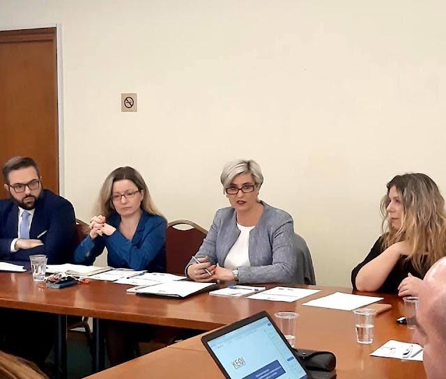 Συνάντηση διαβούλευσης στο Κέντρο Ερευνών για Θέματα Ισότητας (KEΘΙ)