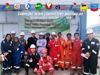 Inter Lab Meeting 95 Gas Alam Kalimantan Timur di Muara Badak Site VICO Indonesia
