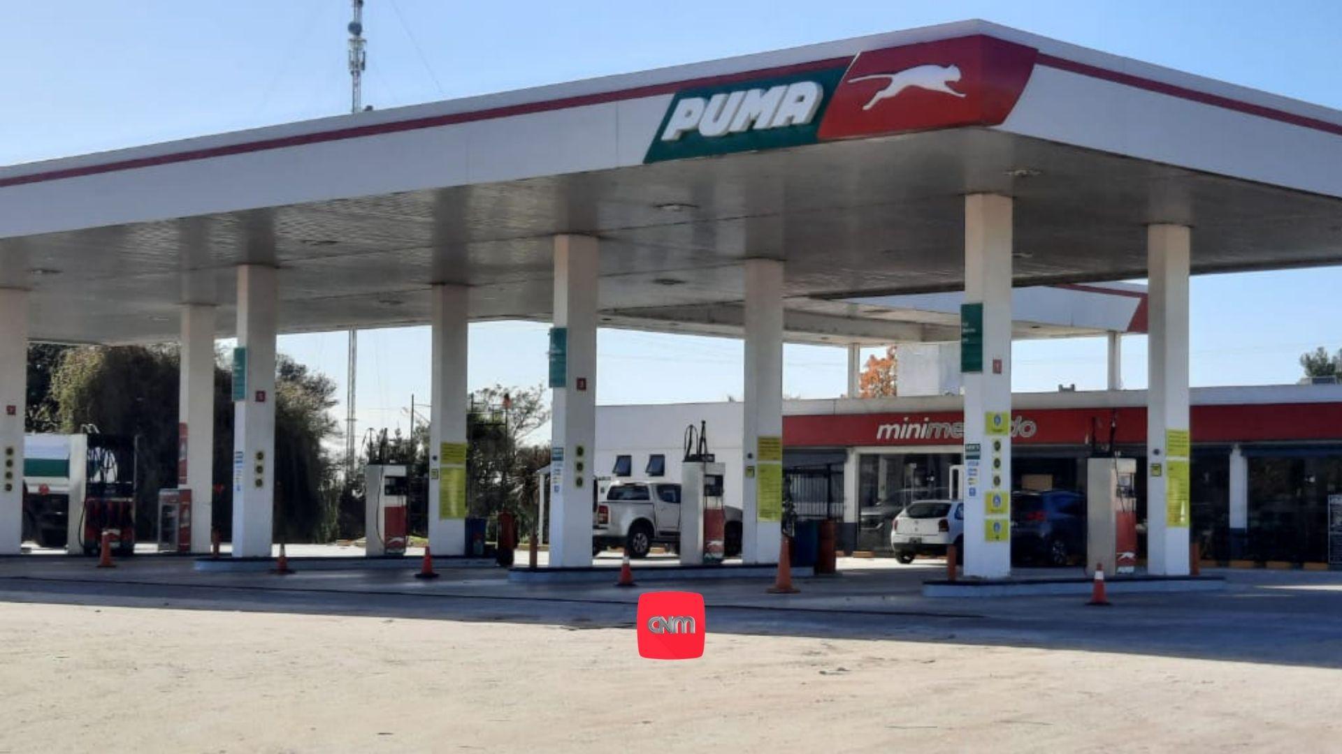 Estacion de gas GNC Puma Madariaga