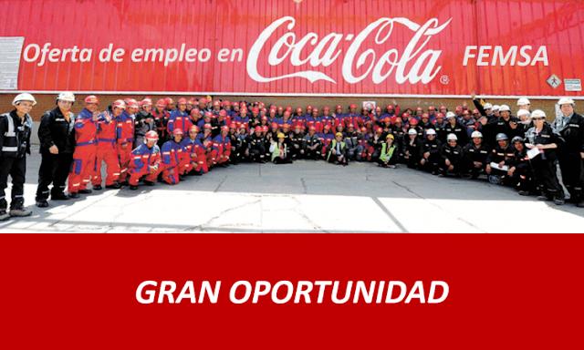 ▶ Oferta de EMPLEO en COCA COLA ✔ $37,798 x MES