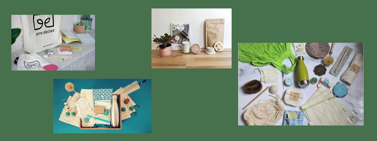 idées cadeaux zéro déchets box kit découverte