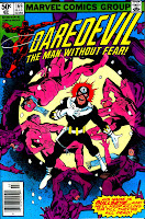 Daredevil v1 #169 bullseye marvel comic book cover art by Frank Miller