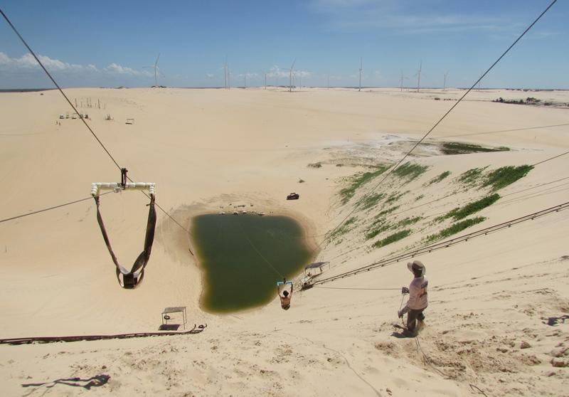 O que fazer em Canoa Quebrada: Tirolesa, passeio de Buggy, Parapente...