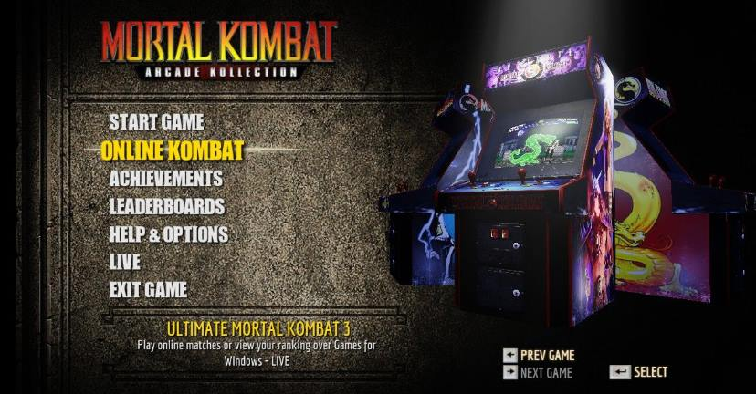 Mortal Kombat Arcade Kollection PC Full Español